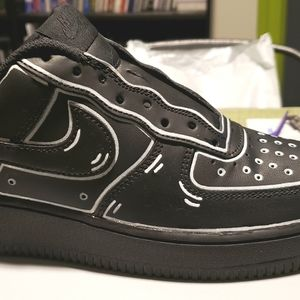 Custom Air Force One's Black Panthers